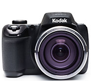 Kodak PixPro AZ527 20MP 52X Zoom Digital Camera with 8GB SD - E231595