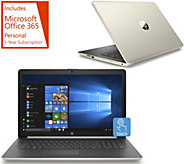 HP  15 Touch Laptop A9 8GB RAM 2TB HDD w/Office 365 w/ Office 365 - E232395