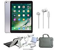 Apple iPad 9.7 32GB Wi-Fi w/ Beats urBeats3 &Accessories - E300095