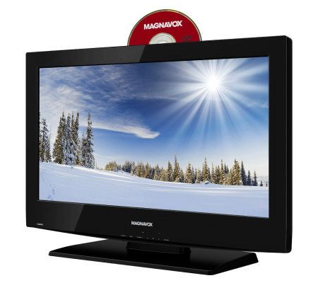 Magnavox 26 Diag 720p Lcd Hdtv With Built In Dvd Player Page 1 Qvc