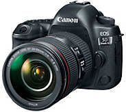 Canon EOS 5D Mark IV EF 30.4MP Camera & 24-105mm Lens - E290296