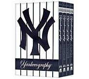 MLB Yankeeography 4-Disc DVD Set - E290996