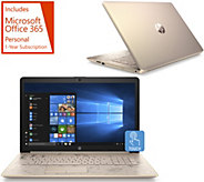 HP 17 Touch Laptop A9 8GB RAM 2TB HDD w/ Office 365 - E232397