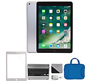Apple 2018 iPad 9.7 128GB Wi-Fi & Accessories- Silver - E294697