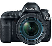 Canon EOS 5D Mark IV EF Camera w/ 24-70mm IS USM Kit - E290298