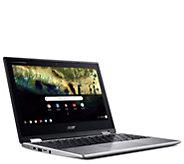 Acer Chromebook Spin 11 2-in-1 Laptop - Intel Celeron, 4GB RAM - E298499