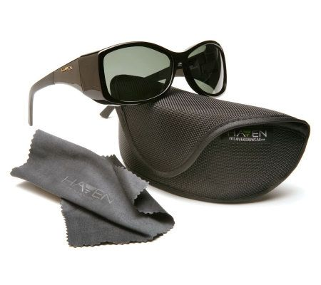 b4726d078b Haven Balboa Fits Over Sunglasses with Polarized Lenses - Page 1 — QVC.com