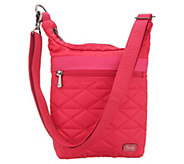 Lug Quilted North/South RFID Crossbody - Skipper - F12503