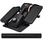 Cubii Jr. Compact Under Desk Elliptical with Monitor & Non-Slip Mat - F13303