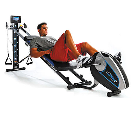 total gym cardio cyclo trainer with guide and workout dvd