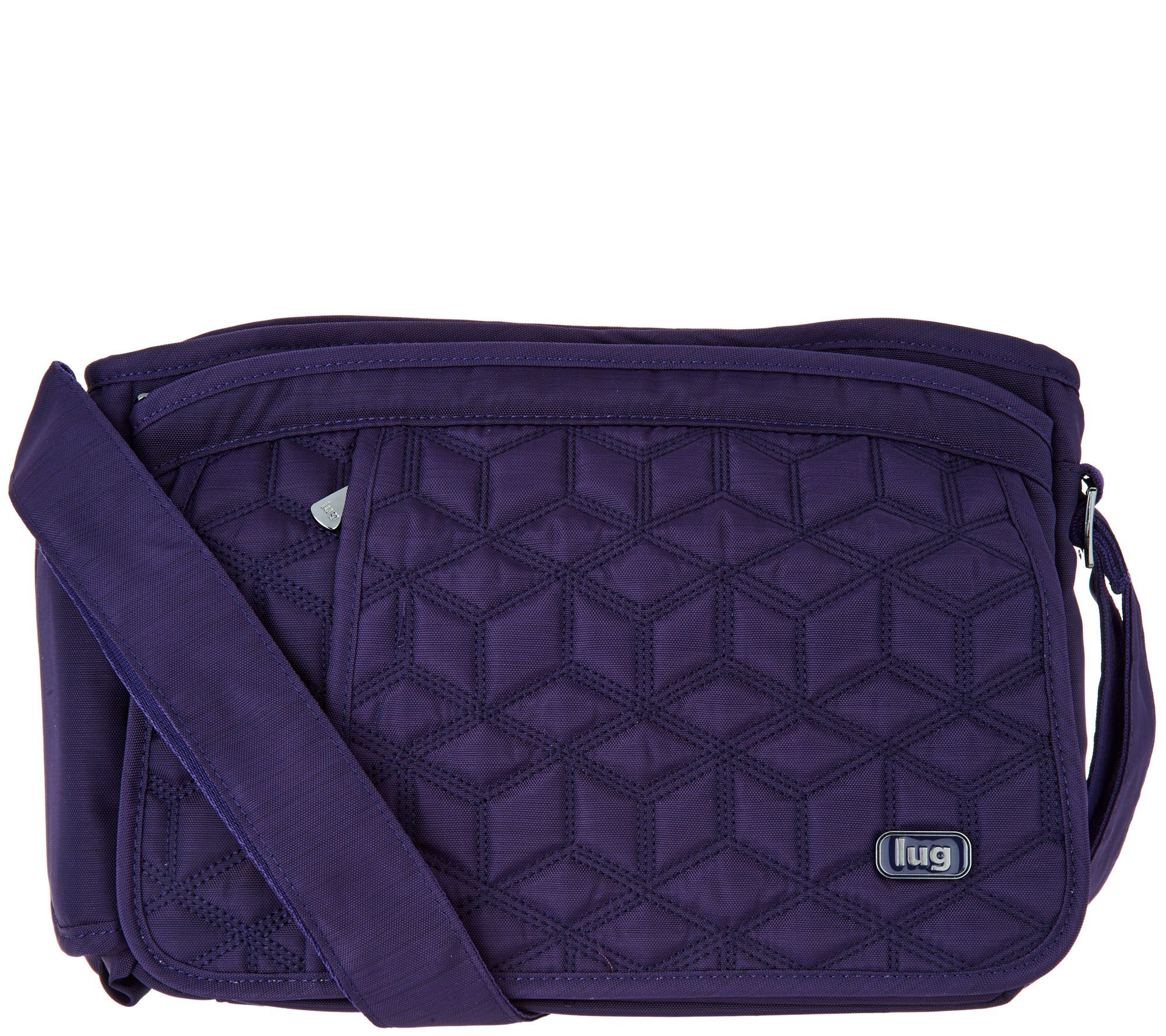 Lug Quilted Flap Crossbody Bag - Wings - Page 1 — QVC.com a58cb4a48d