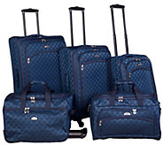 American Flyer Madrid 5-Piece Spinner Luggage Set - F249210