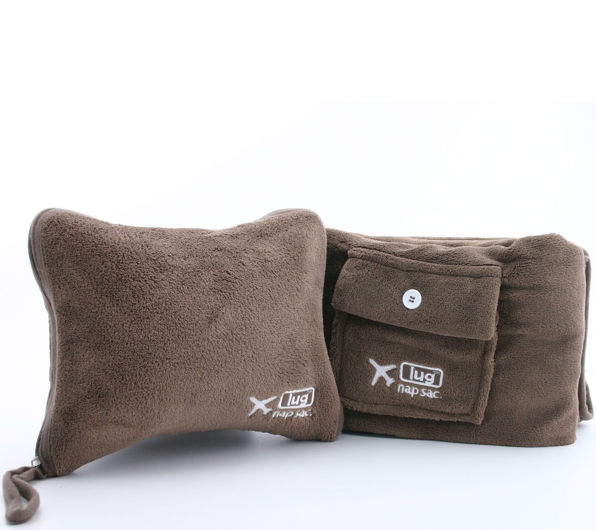 Lug Nap Sac Blanket   Pillow Set - Page 1 — QVC.com 210ddec79
