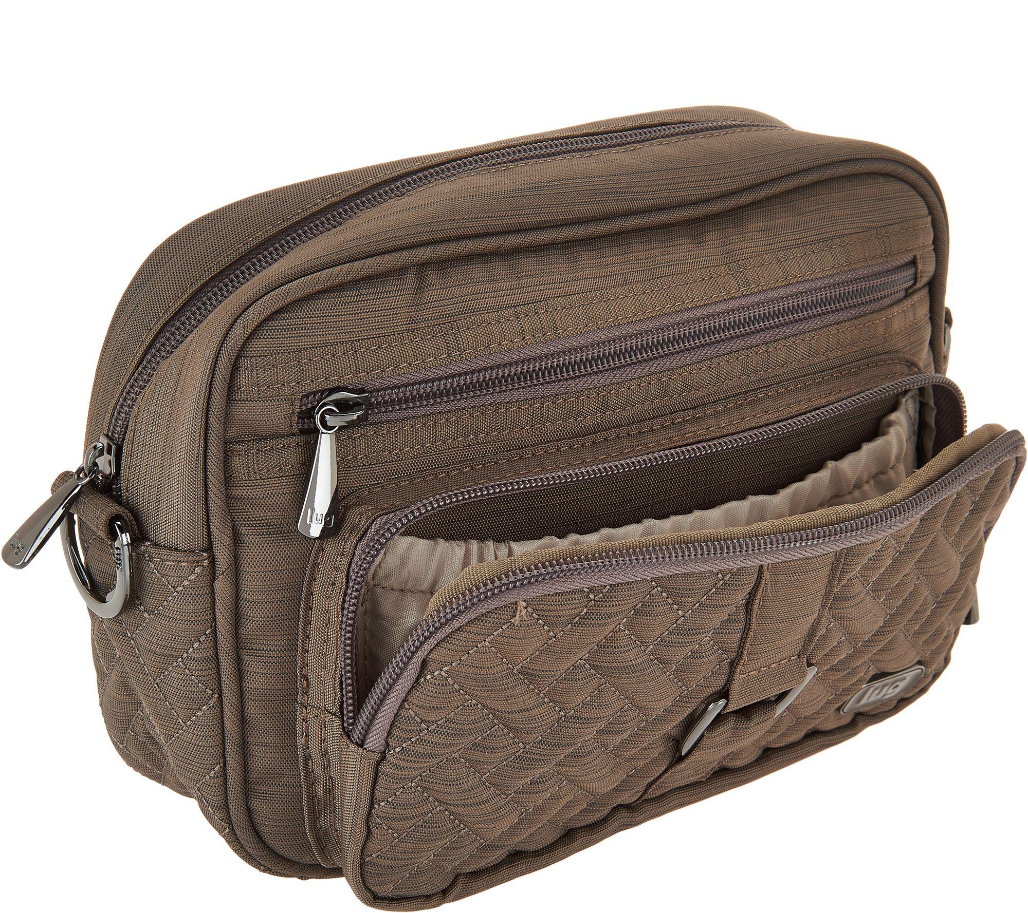 0018432e944f30 Lug Convertible RFID Crossbody and Belt Bag - Carousel - Page 1 — QVC.com