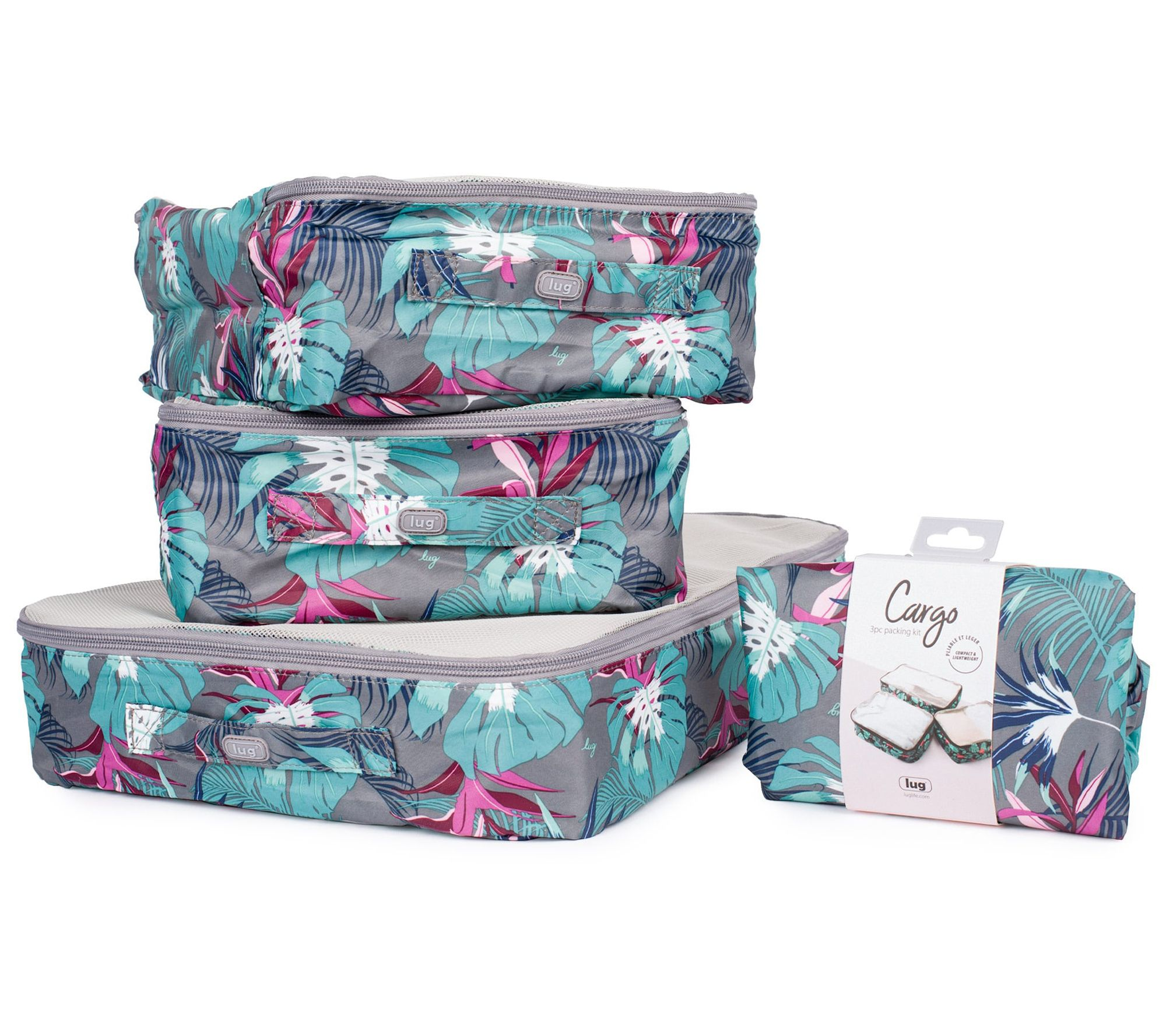The Elephant At Sunset 3 Set Packing Cubes,2 Various Sizes Travel Luggage Packing Organizers n