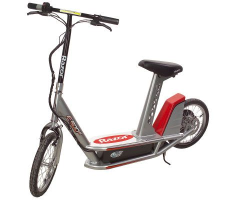 razor e500s highperformance electric scooter with seat