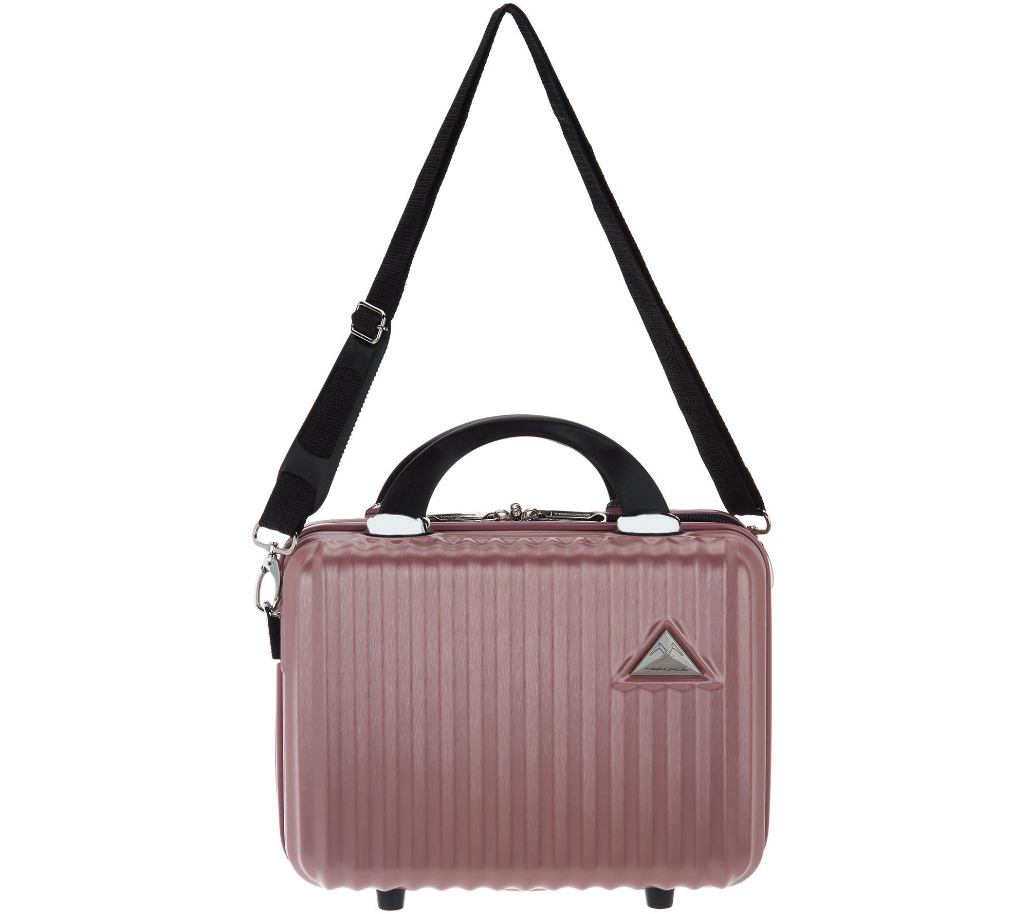 2edbc36172530 Triforce Luggage Hardside Beauty Case - Sobe - Page 1 — QVC.com