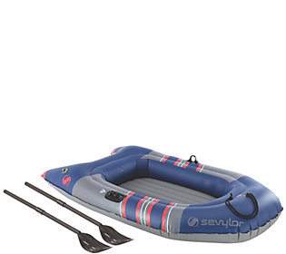 Sevylor 2-Person Inflatable Boat with Oars