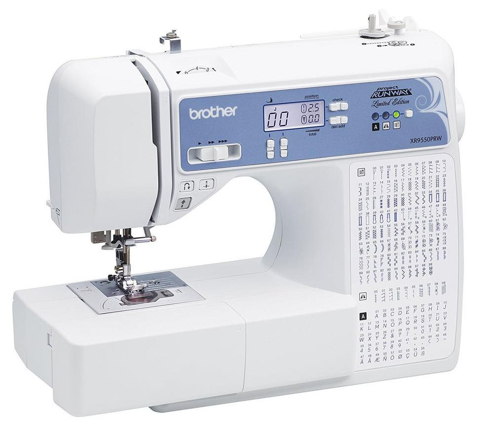 Brother Project Runway Computerized Sewing Machine 110 Stitch — QVC com