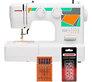 Janome MOD-15 Easy-to-Use Sewing Machine with Bundle - F249714