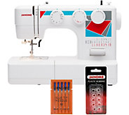 Janome MOD-19 Easy-to-Use Sewing Machine with Bundle - F249716
