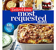 Most Requested Recipes Cookbook by Taste of Home - F12918
