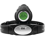 Pyle PHRM38BK Heart Rate Monitor Watch  - Black - F247919