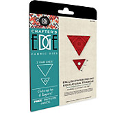 Crafters Edge Equilateral Triangle Fabric Cutting Dies - F250319