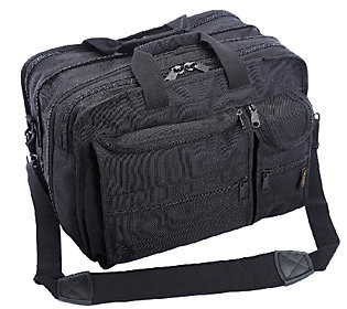 A.Saks Expandable Multi-Pocket Organizer Briefc ase
