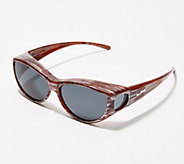 Jonathan Paul Catty Style Brushed-Tone Fitover Sunglasses - F13522