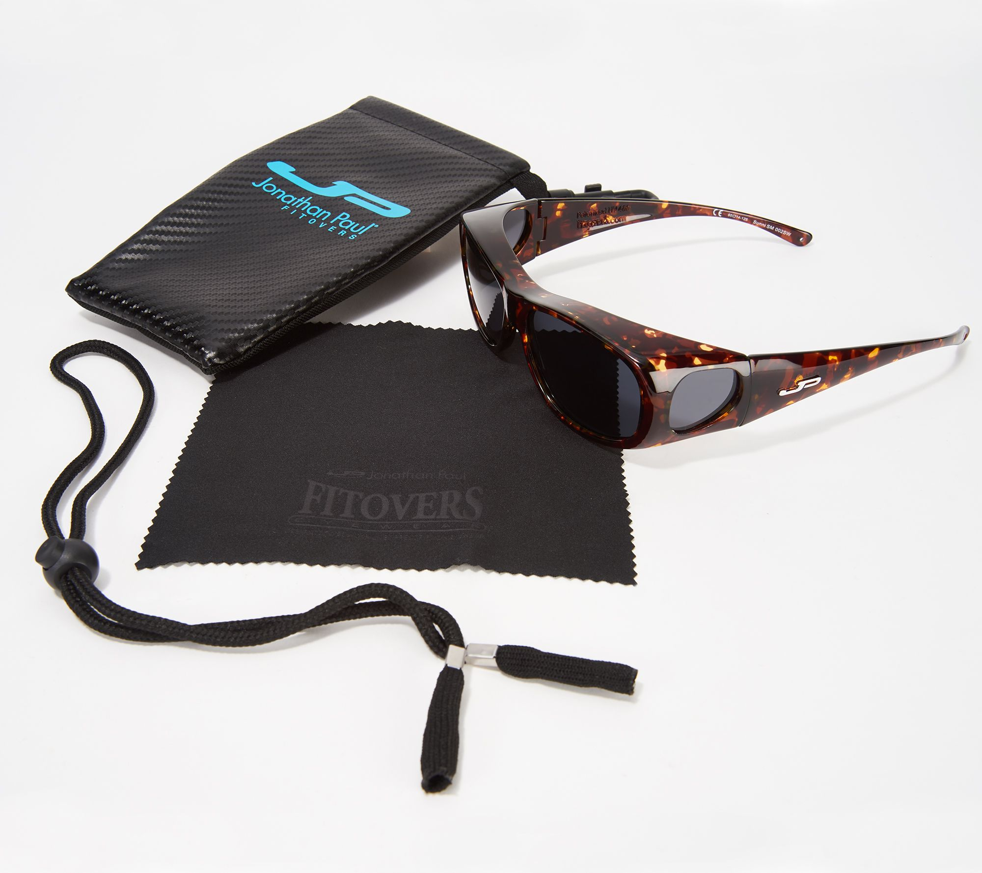 9907ec79d0c Jonathan Paul Sunni Classic Fitover Sunglasses with Case - Page 1 ...