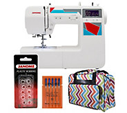 Janome MOD-100 Computerized Sewing Machine withAccessories - F249724