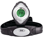 Pyle PHRM38SL Heart Rate Monitor Watch - Silver - F247925