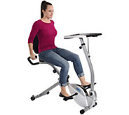Stamina 2-in-1 Recumbent Bike Workstation & Standing Desk - F249626