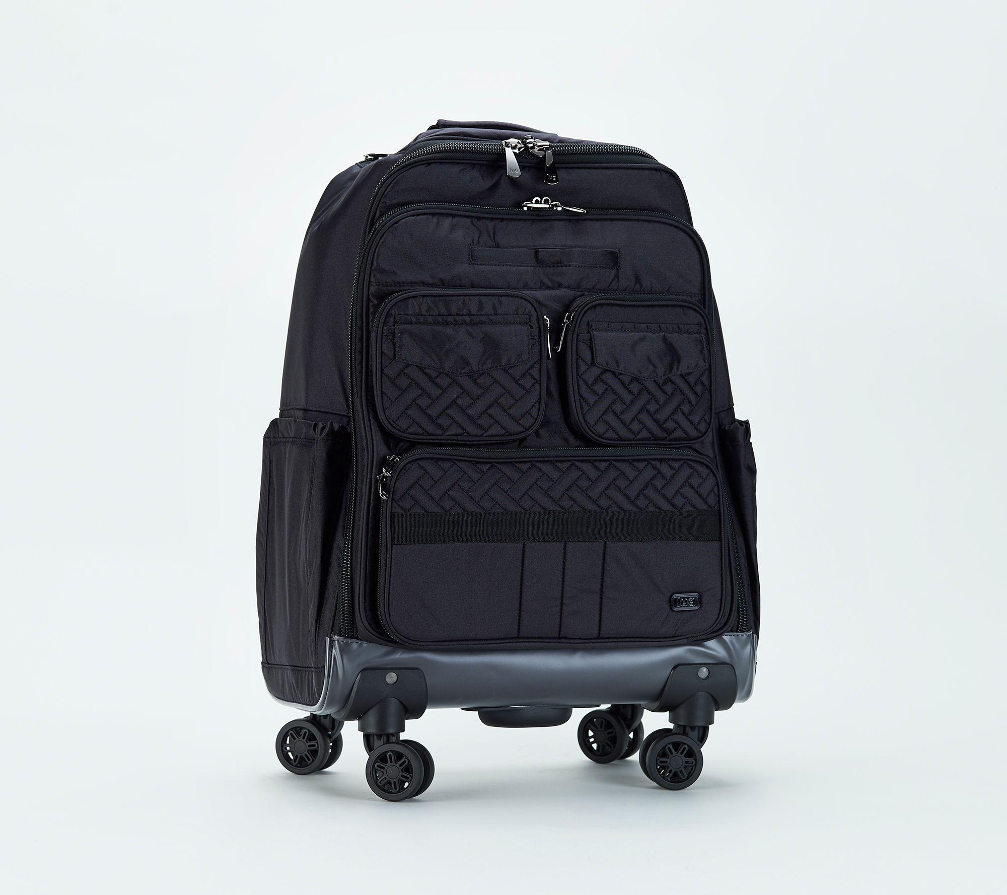 Wondrous Lug Travel Roller Bag Puddle Jumper Wheelie 2 Qvc Com Home Interior And Landscaping Ologienasavecom