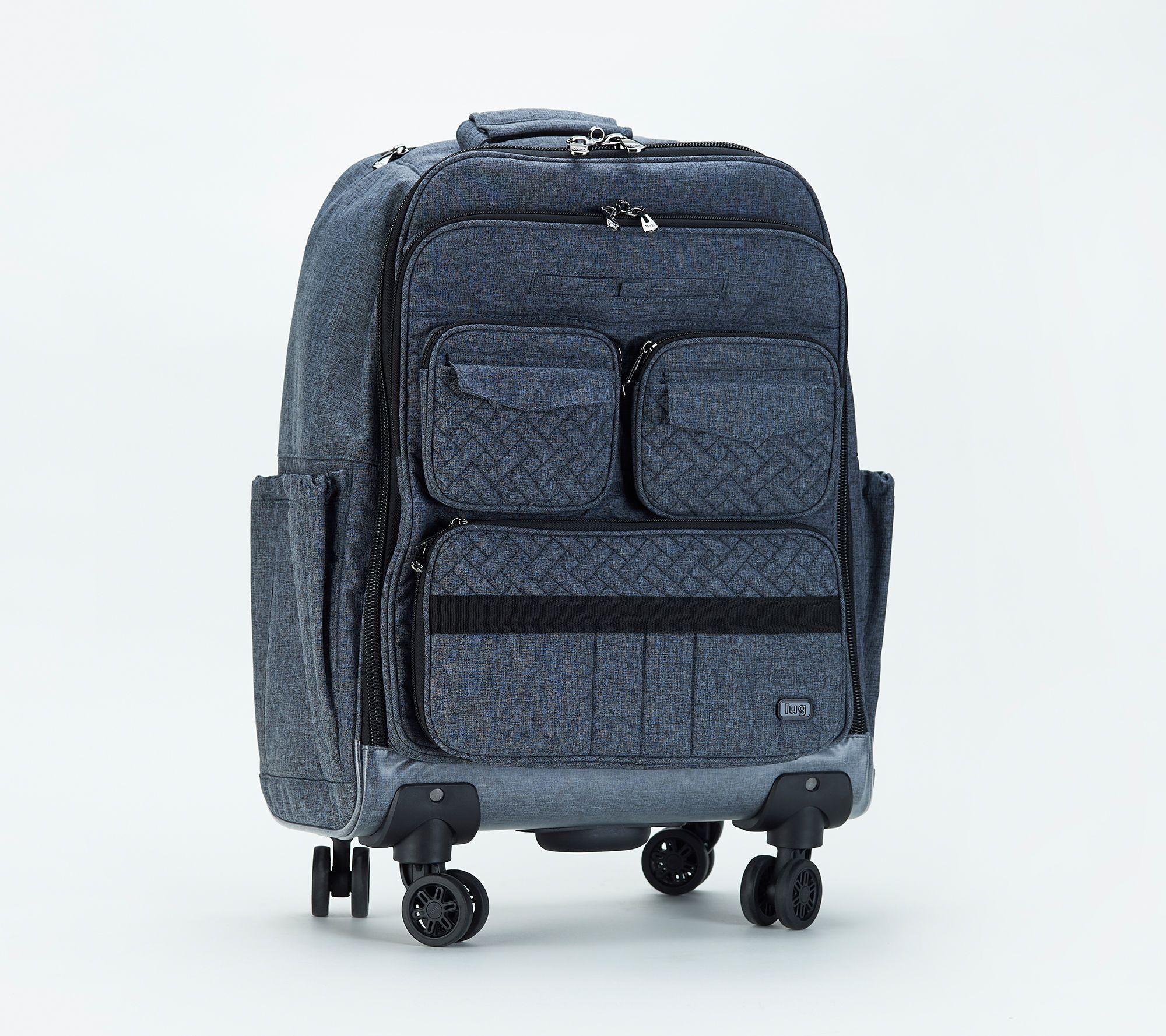 Groovy Lug Travel Roller Bag Puddle Jumper Wheelie 2 Qvc Com Home Interior And Landscaping Ologienasavecom