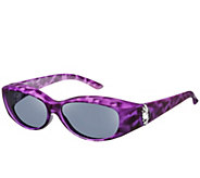 Haven Fits Over Arftul Elegance Sunglasses with Pearl Adornment by Foster Grant - F13530