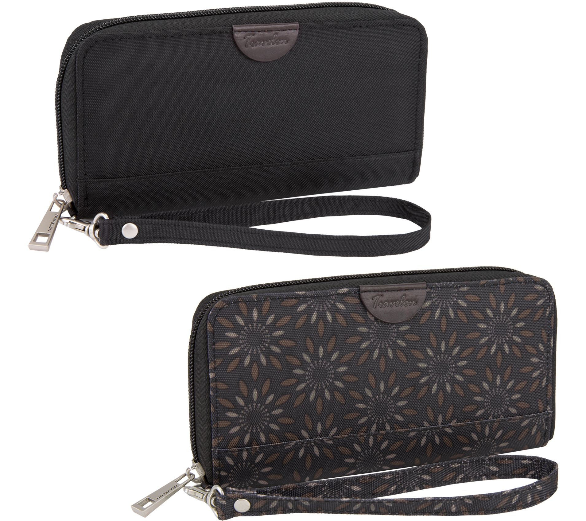 7734b692e0b2 Travelon Set of 2 RFID Wallets with Gift Boxes - Page 1 — QVC.com