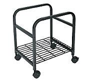 Cropper Hopper Heavy Duty Rolling Cart - Black - F168333