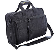 A.Saks Multi-Pocket Top Load Briefcase - F249134