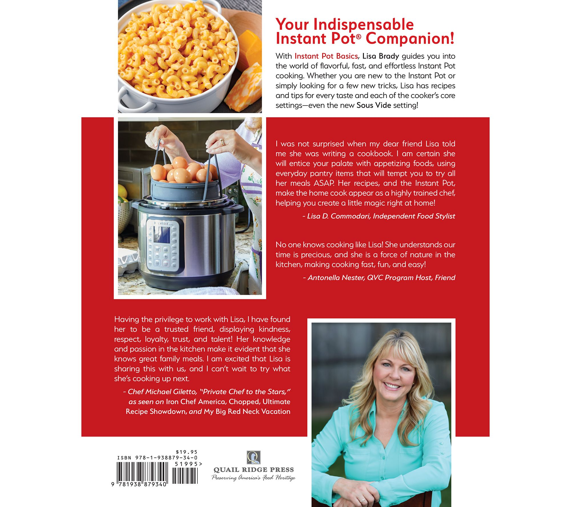Instant Pot Basics - The Essential Guide by Lisa Brady — QVC com