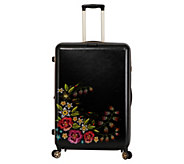 Triforce Floral Print 30 Spinner Suitcase - Fiore - F234536