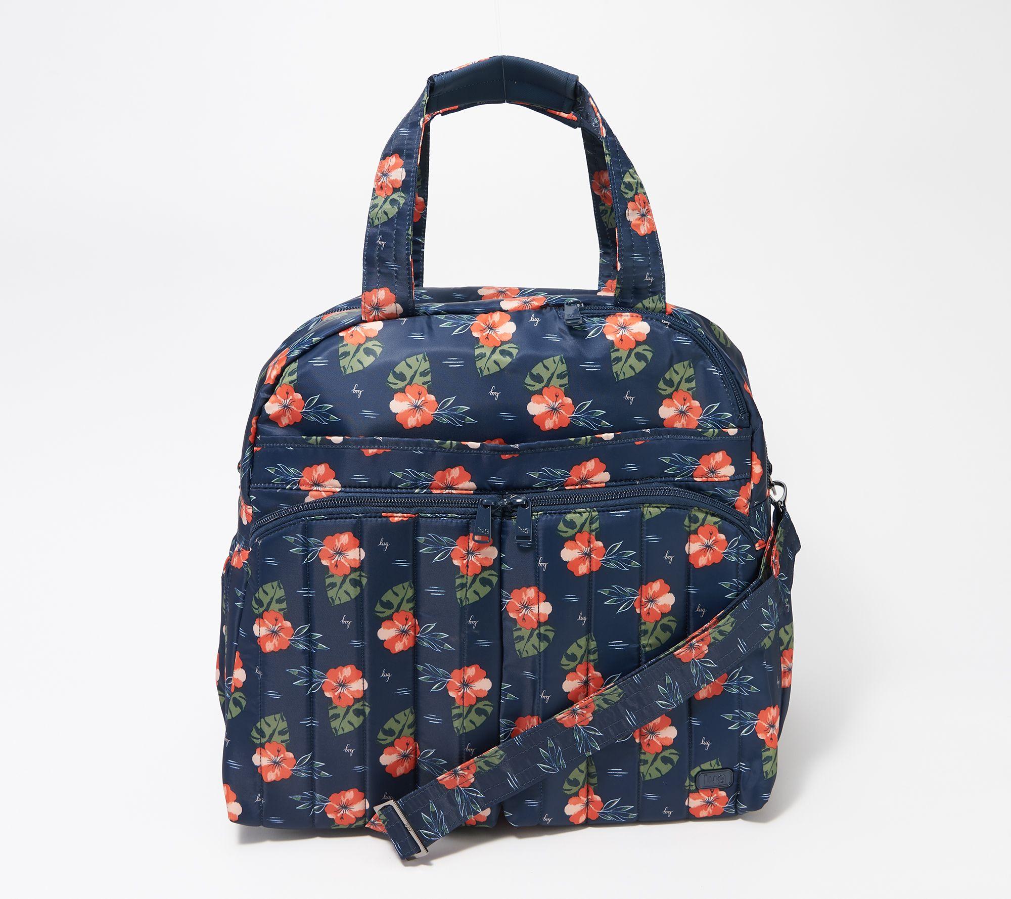 Lug Convertible Overnight Bag w  RFID - Boxer 2 - Page 1 — QVC.com 82490ad48c0d0