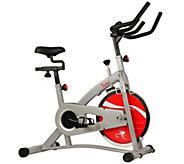 Sunny Health & Fitness Belt Drive Indoor Cycling Bike - F250037