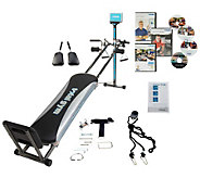 Total Gym Platinum Plus with 4 DVDs & 5 Accessories - F12941