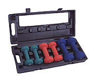 Apex Neoprene Dumbell Set - F195141