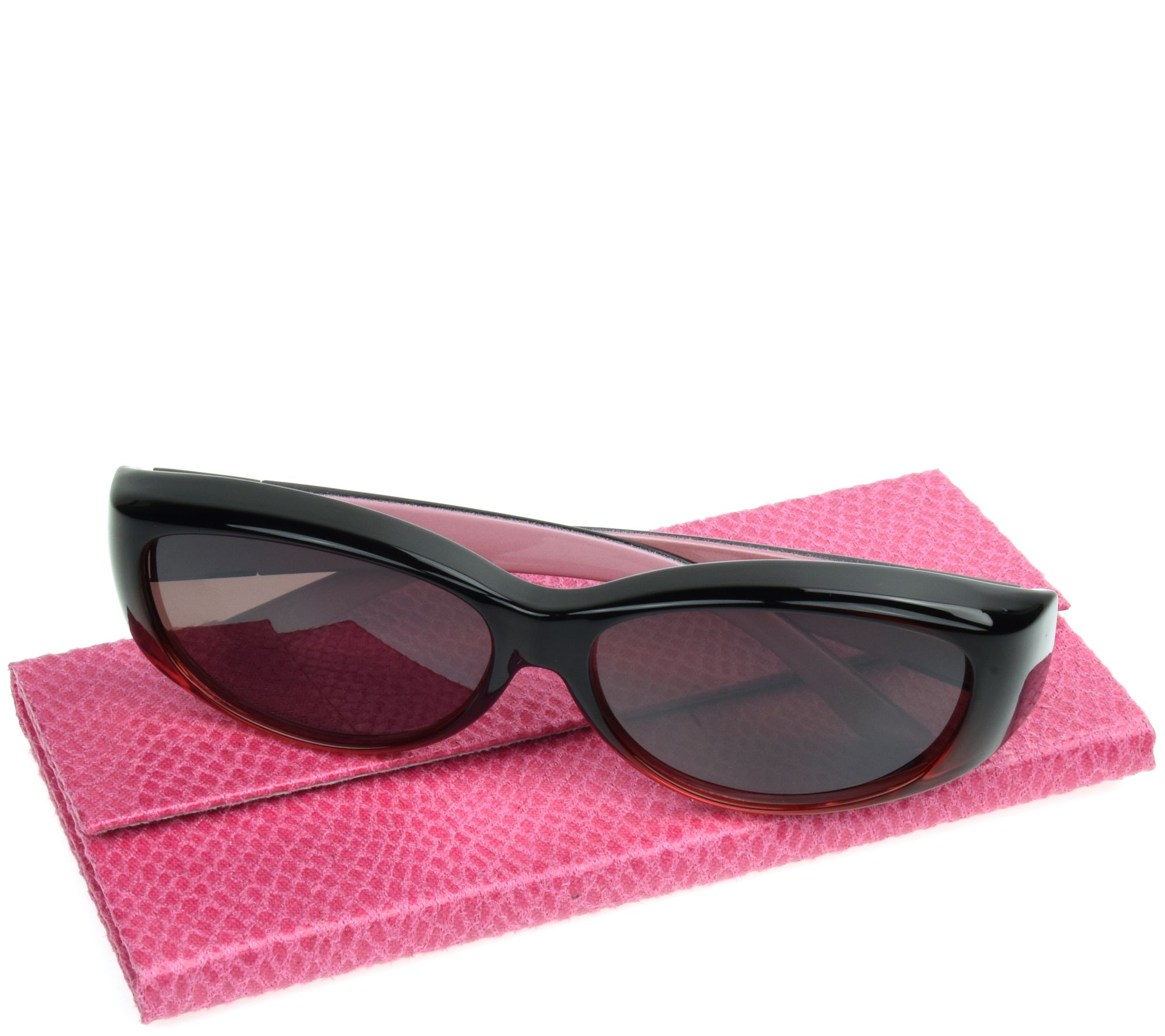 76cea055c Haven Fits Over Flirty Flower Sunglasses with Protective Case by Foster  Grant - Page 1 — QVC.com