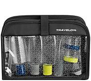 Travelon Wet/Dry 1-qt Bag with Bottles - F232942