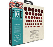 Crafters Edge Mini Circle Set Fab Dies - F250343