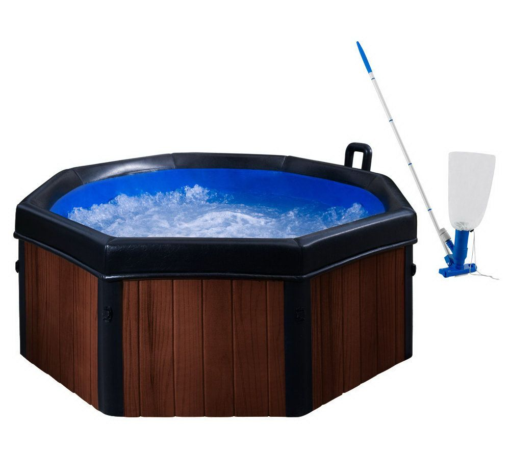 Spa-N-A-Box 6\' Portable Spa w/ Massaging Jets, Cover & Vacuum - Page ...